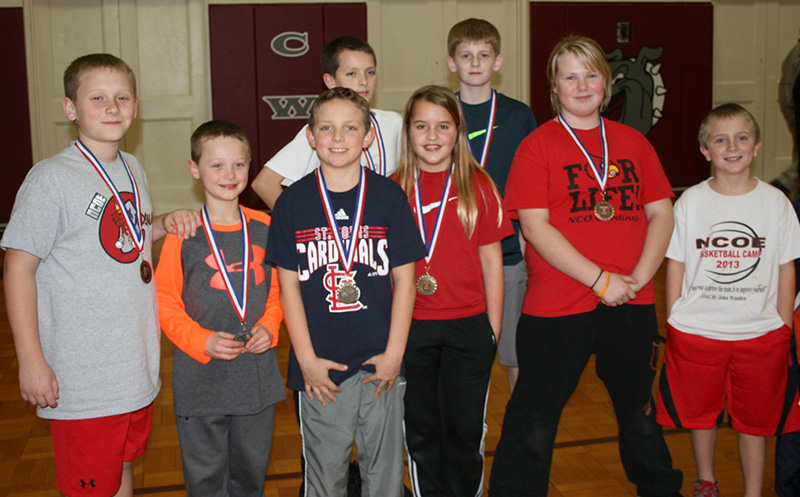 NCO Students do well at Elks Hoop Shoot