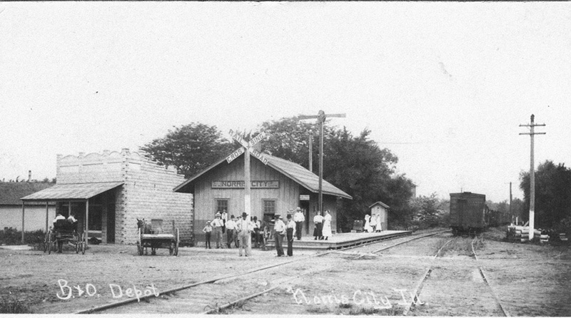 Norris City, Illinois Depot